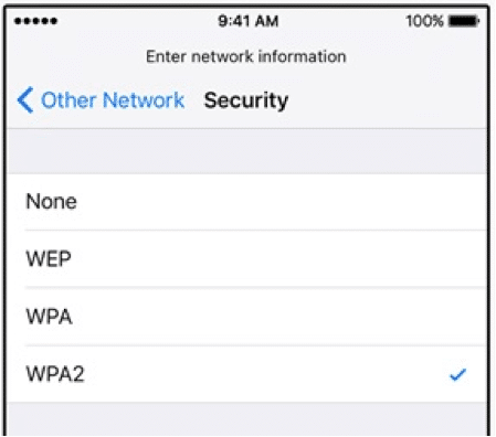 Getting access to wifi – training